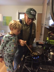 Cooking hedge apple seeds